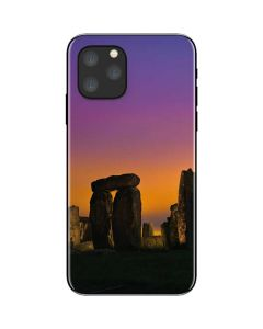 Clouds Over Stonehenge iPhone 11 Pro Skin