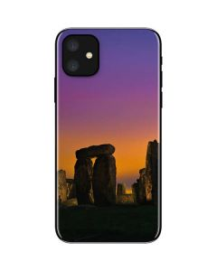 Clouds Over Stonehenge iPhone 11 Skin