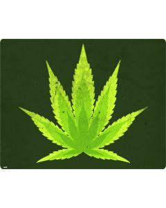 Marijuana Leaf Light Green Generic Laptop Skin