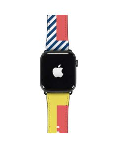 Color Blocks Apple Watch Band 42-44mm