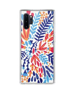 Color Foliage Galaxy Note 10 Plus Clear Case