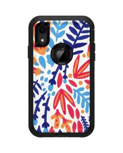 Color Foliage Otterbox Defender iPhone Skin