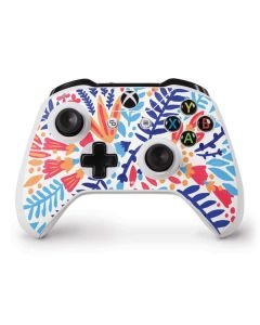 Color Foliage Xbox One S Controller Skin