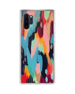 Color Melt Galaxy Note 10 Plus Clear Case