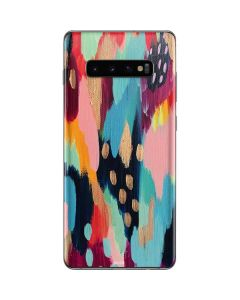 Color Melt Galaxy S10 Plus Skin