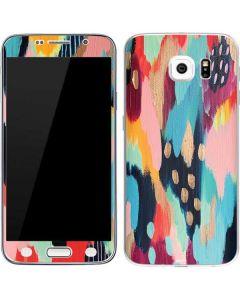 Color Melt Galaxy S6 Skin