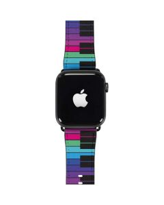 Color Piano Keys Apple Watch Band 42-44mm