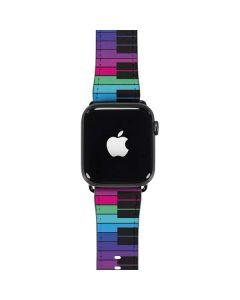 Color Piano Keys Apple Watch Case