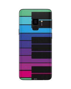 Color Piano Keys Galaxy S9 Skin