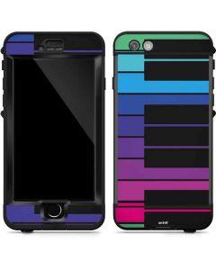 Color Piano Keys LifeProof Nuud iPhone Skin