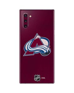 Colorado Avalanche Distressed Galaxy Note 10 Skin