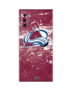 Colorado Avalanche Frozen Galaxy Note 10 Skin