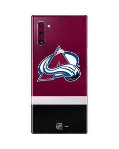 Colorado Avalanche Jersey Galaxy Note 10 Skin