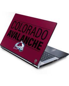 Colorado Avalanche Lineup Generic Laptop Skin