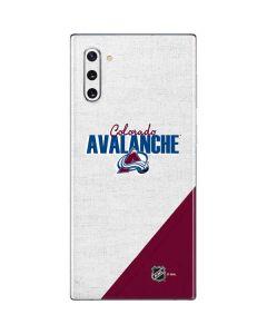 Colorado Avalanche Script Galaxy Note 10 Skin