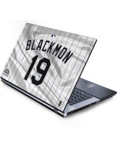 Colorado Rockies Blackmon #19 Generic Laptop Skin