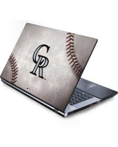 Colorado Rockies Game Ball Generic Laptop Skin