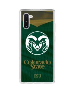 Colorado State Alternative Galaxy Note 10 Clear Case