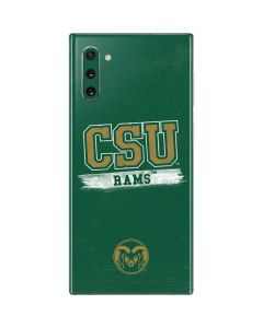 Colorado State Distressed Galaxy Note 10 Skin