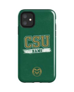 Colorado State Distressed iPhone 11 Impact Case