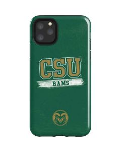 Colorado State Distressed iPhone 11 Pro Max Impact Case