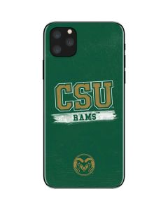 Colorado State Distressed iPhone 11 Pro Max Skin