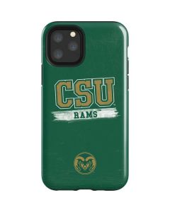 Colorado State Distressed iPhone 11 Pro Impact Case