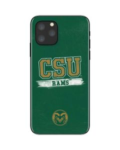 Colorado State Distressed iPhone 11 Pro Skin