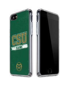 Colorado State Distressed iPhone SE Clear Case