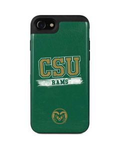 Colorado State Distressed iPhone SE Wallet Case