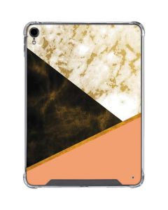 Colored Marble iPad Pro 11in (2018-19) Clear Case