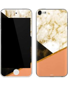 Colored Marble Apple iPod Skin