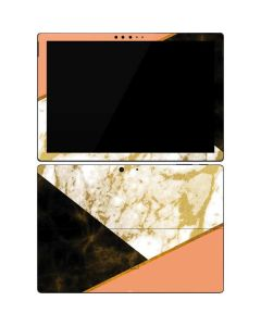Colored Marble Surface Pro 7 Skin