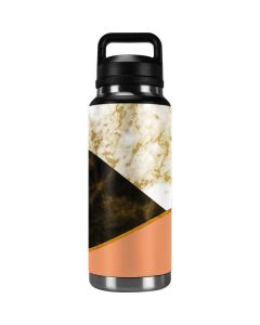 Colored Marble YETI Rambler 36oz Bottle Skin