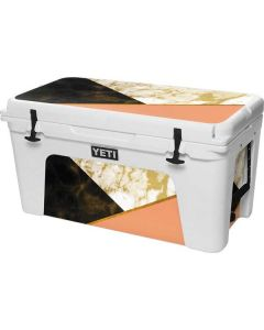 Colored Marble YETI Tundra 75 Hard Cooler Skin