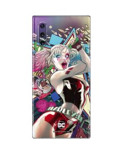 Colorful Harley Quinn Galaxy Note 10 Skin