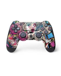 Colorful Harley Quinn PS4 Pro/Slim Controller Skin