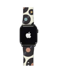Colorful Records Apple Watch Band 42-44mm