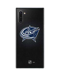 Columbus Blue Jackets Black Background Galaxy Note 10 Skin