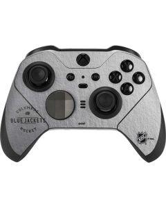 Columbus Blue Jackets Black Text Xbox Elite Wireless Controller Series 2 Skin