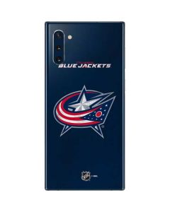 Columbus Blue Jackets Distressed Galaxy Note 10 Skin
