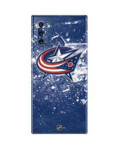 Columbus Blue Jackets Frozen Galaxy Note 10 Skin