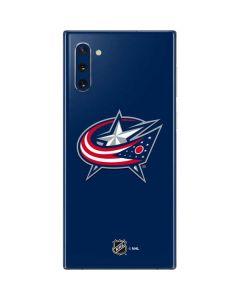Columbus Blue Jackets Logo Galaxy Note 10 Skin