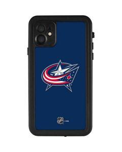 Columbus Blue Jackets Logo iPhone 11 Waterproof Case