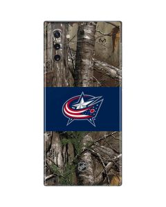 Columbus Blue Jackets Realtree Xtra Camo Galaxy Note 10 Skin