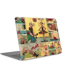 Comic Strip Popeye Apple MacBook Air Skin
