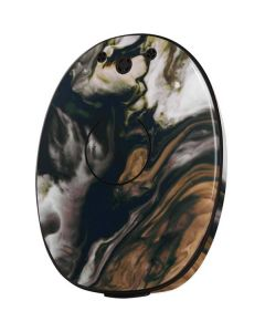 Copper and Black Marble Ink MED-EL Rondo 2 Skin