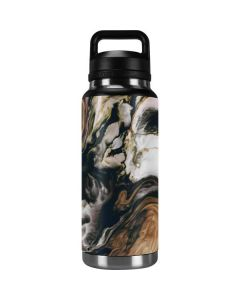 Copper and Black Marble Ink YETI Rambler 36oz Bottle Skin