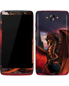 Coppervein Dragon Motorola Droid Skin