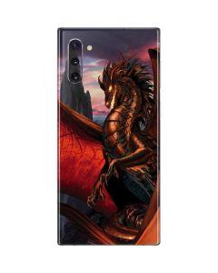 Coppervein Dragon Galaxy Note 10 Skin